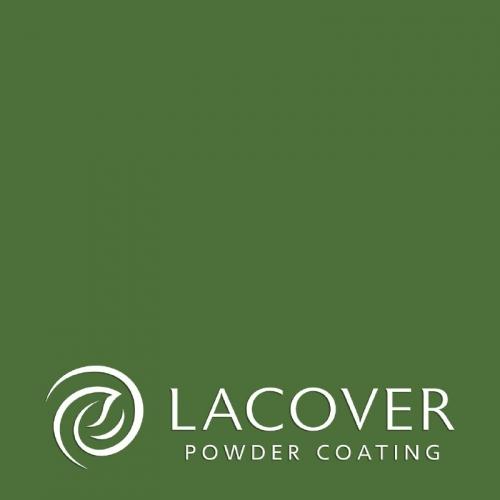 Порошковая краска RAL 6010 PE/GL